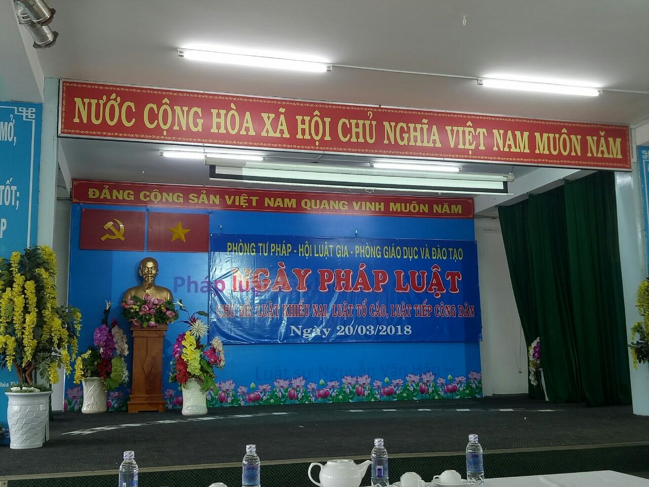 Quận Tân Bình tổ chức Hội nghị tuyên truyền về Luật tiếp